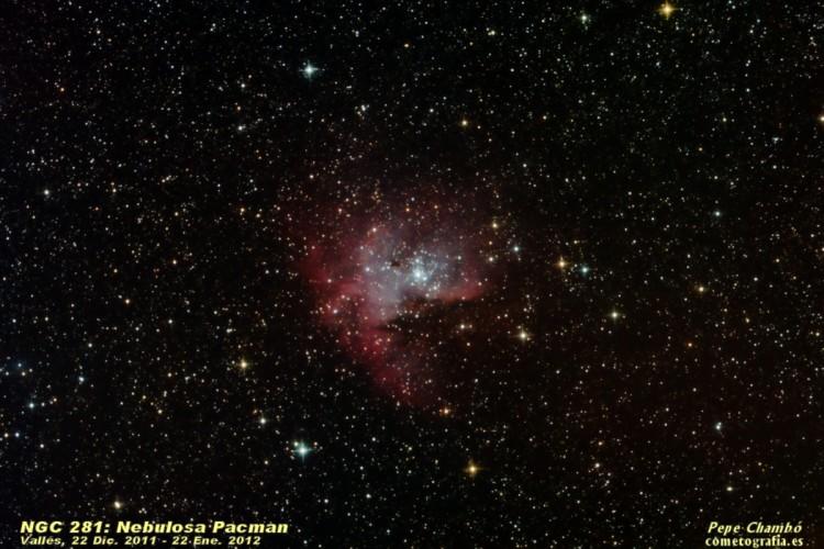 NGC 281: Nebulosa Pacman