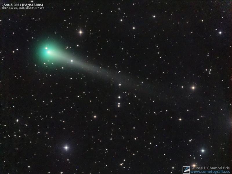Cometa C/2015 ER61 PANSTARRS (29-Abr-2017)