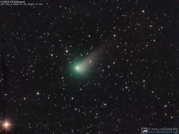 Cometa C/2015 V2 Johnson