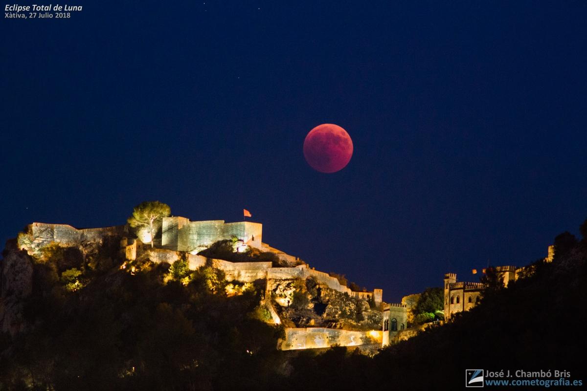 eclipse de luna el 27 de julio