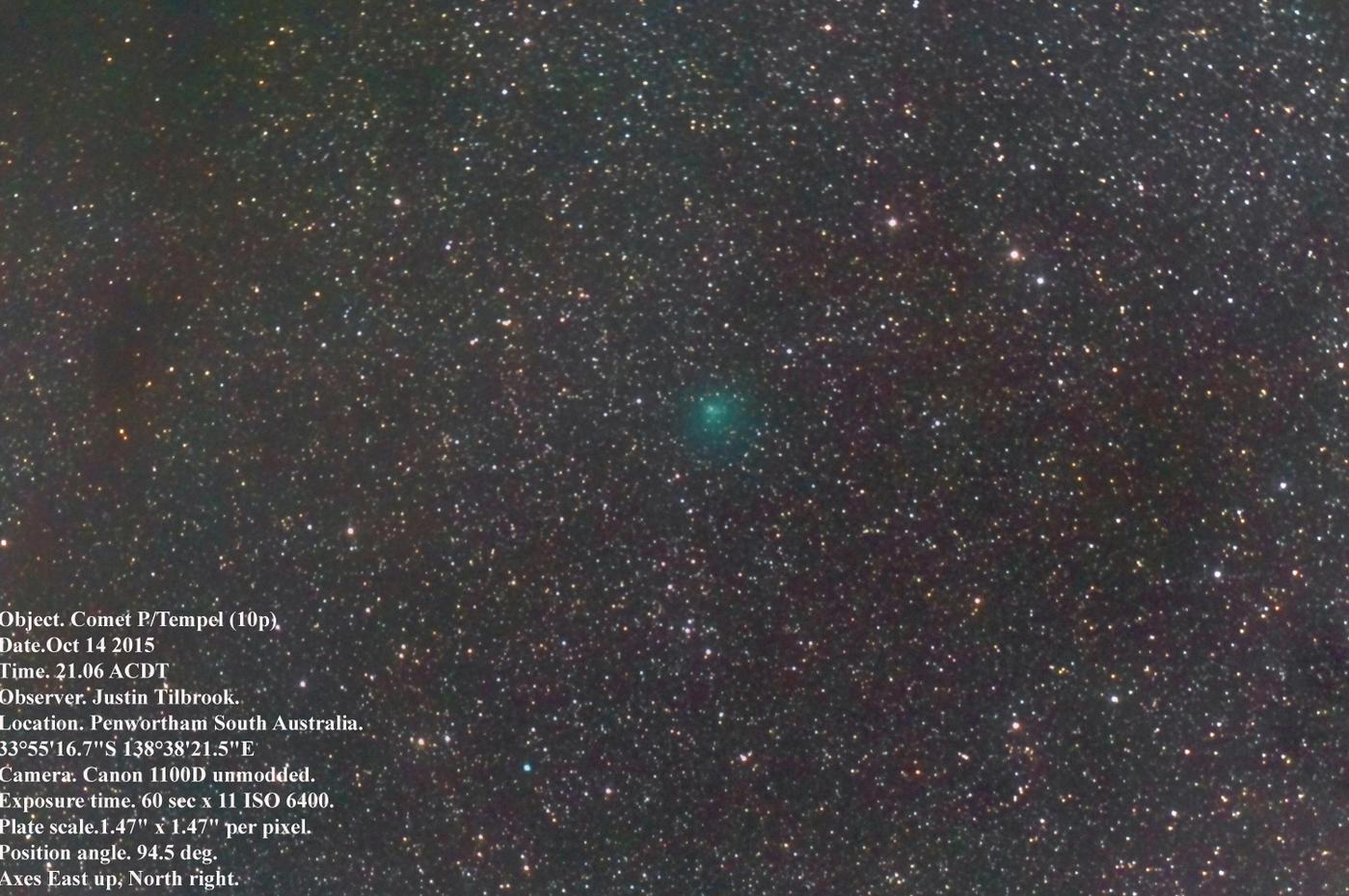 Cometa 10P/Tempel