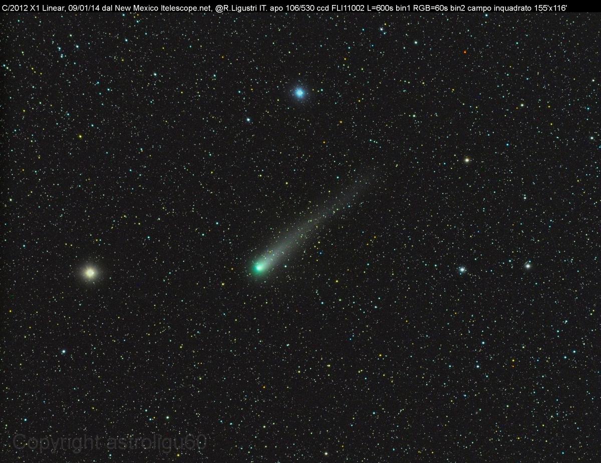 Cometa C/2012 X1 (LINEAR)