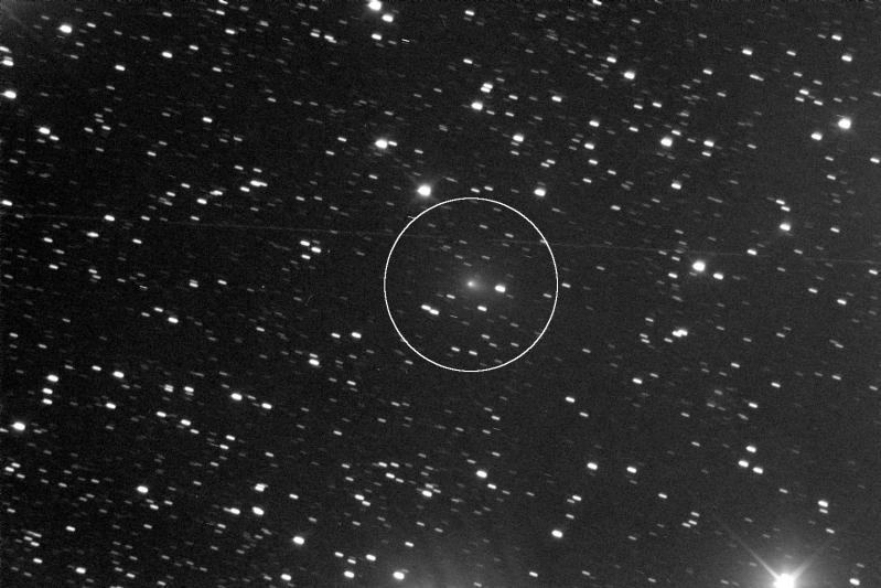 Imagen del cometa C/2013 R1 (Lovejoy) obtenida el 14 de Septiembre de 2013 desde (). Foto: © Luc Arnold*