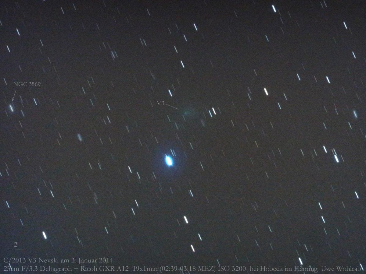 Cometa C/2013 V3 (Nevski)