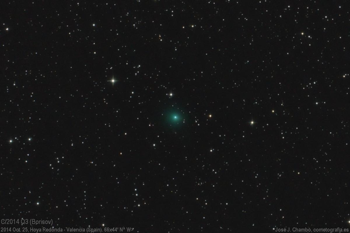 Cometa C/2014 Q3 (Borisov)