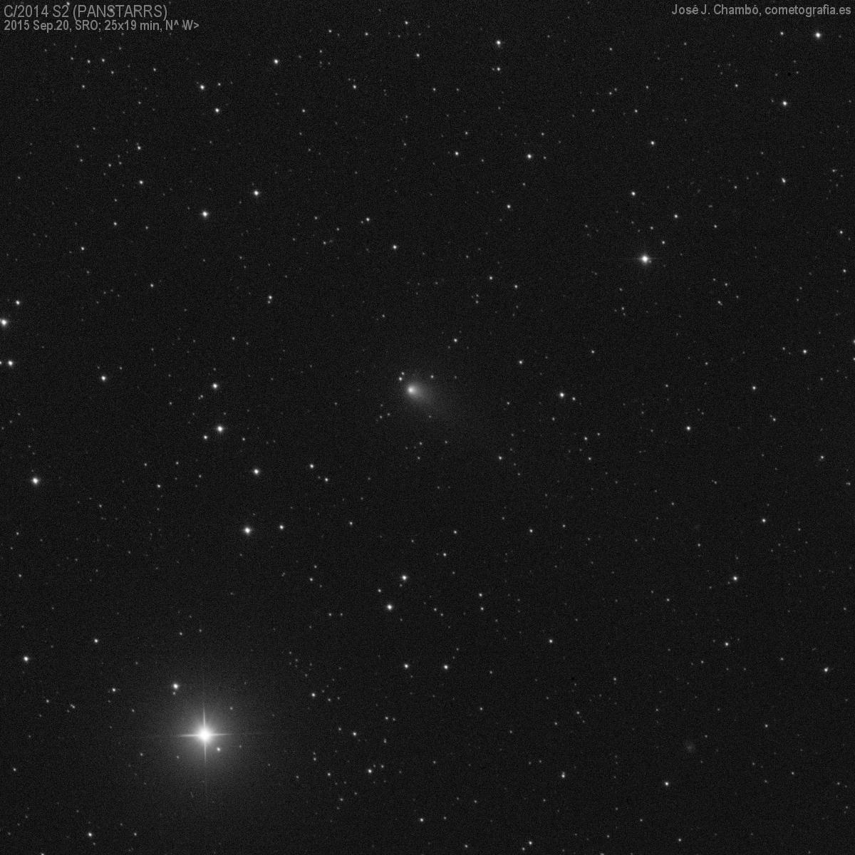 Cometa C/2014 S2 (PANSTARRS)