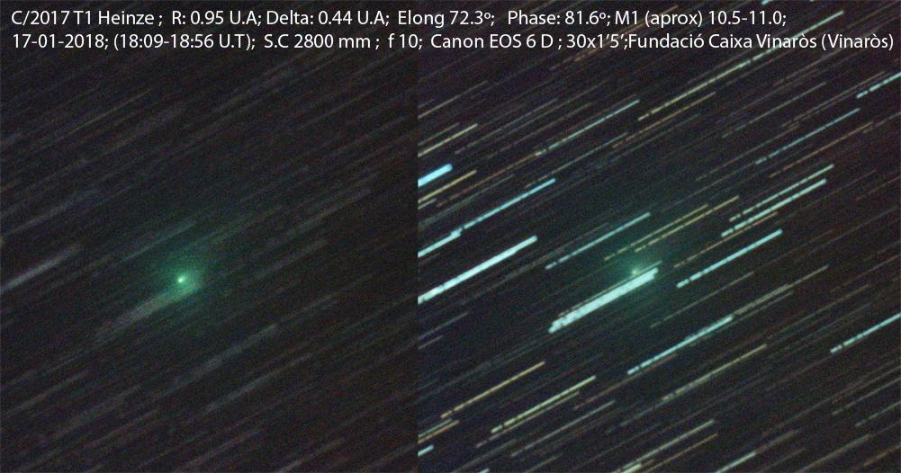 Cometa C/2017 T1 (Heinze)