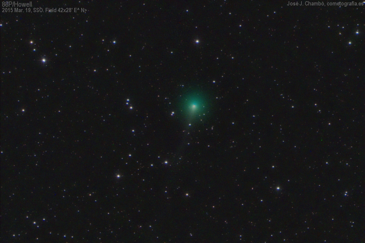 Cometa 88P/Howell