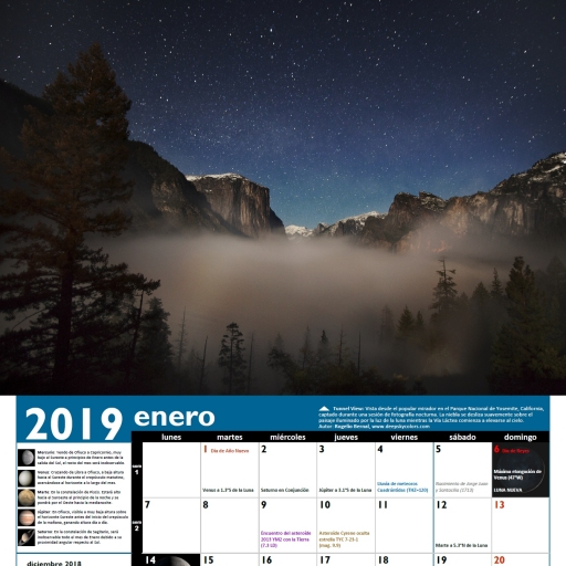AstroCalendario 2019