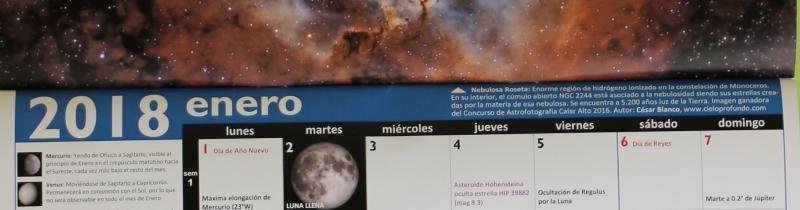 Astro Calendario 2018