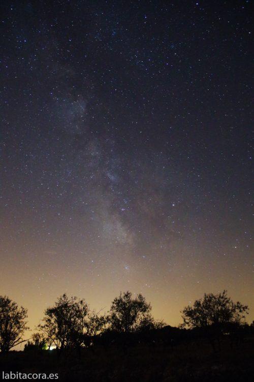 Una imagen de la Vía Láctea