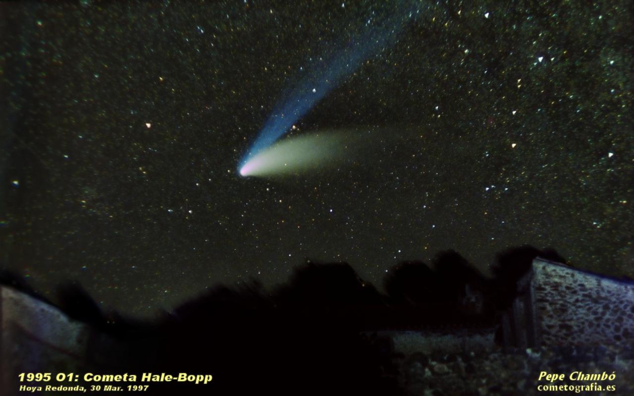 Cometa Hale-Bopp