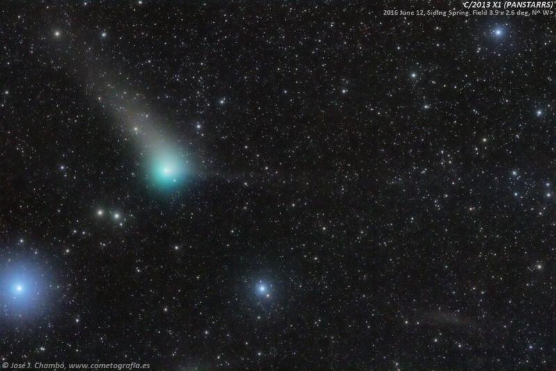 2016El cometa PANSTARRS se aproxima a la Tierra (NASA-APOD)