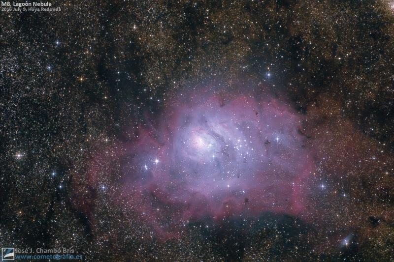 M8, Nebulosa de La Laguna