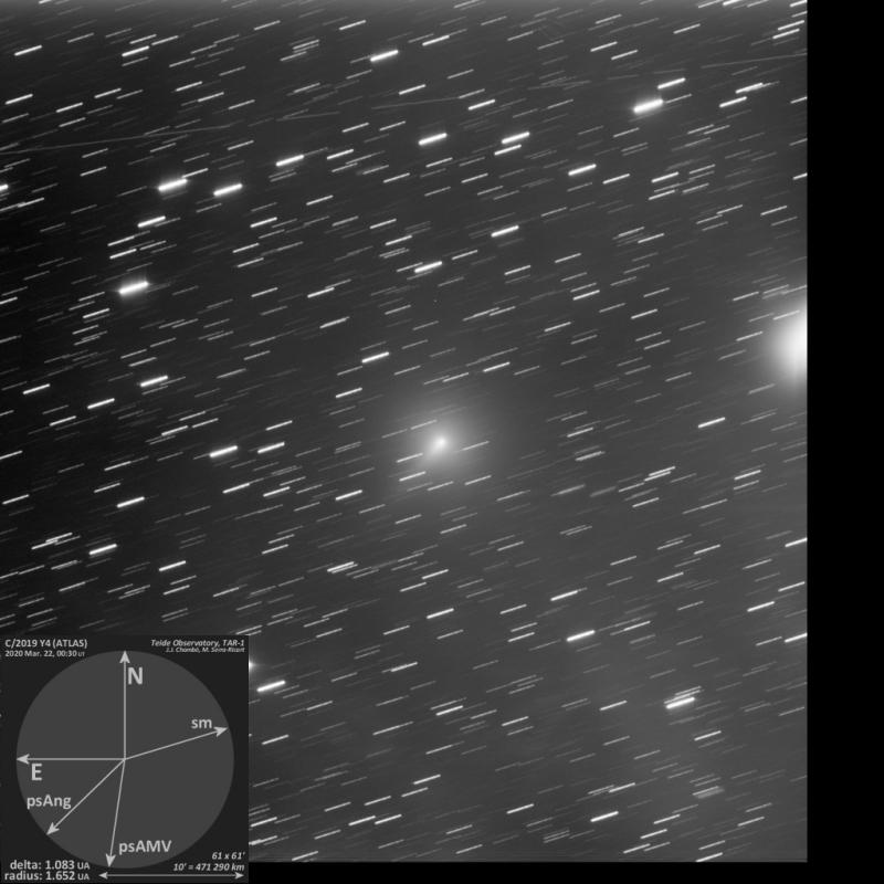 C/2019 Y4 (ATLAS)<br />2020-Mar-22