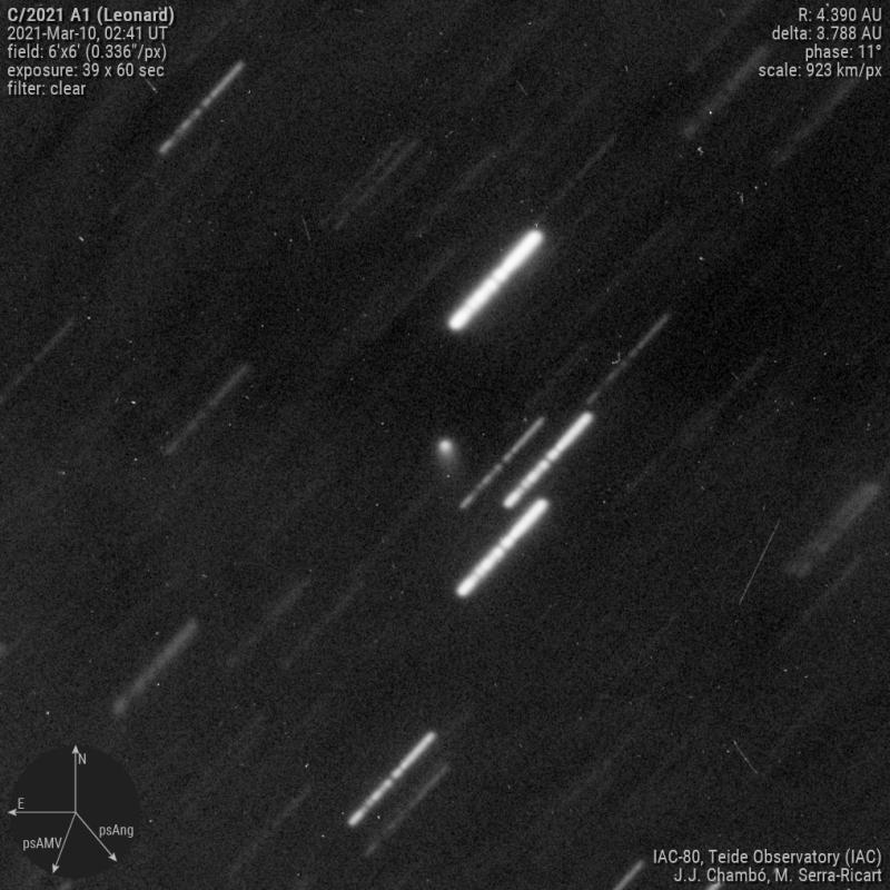 Cometa C/2021 A1 (Leonard)