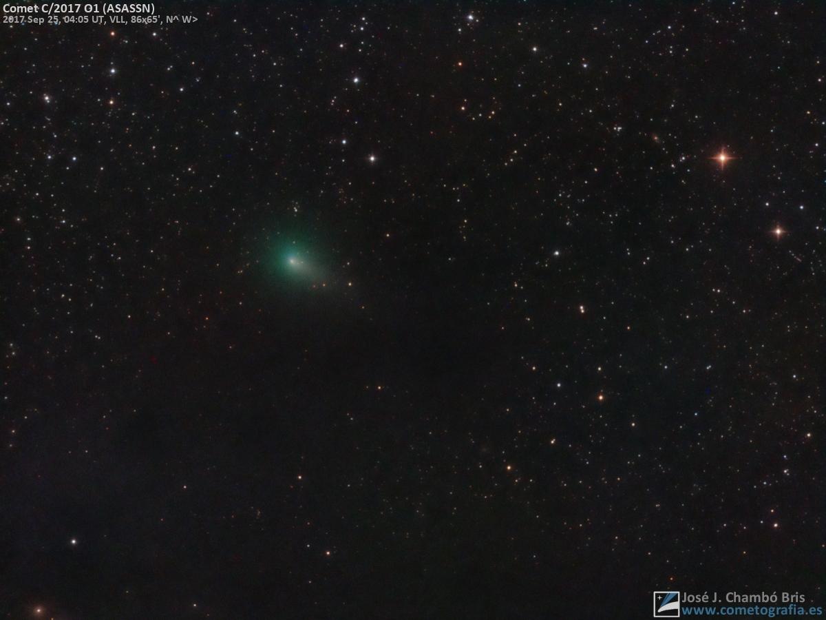 Cometa C/2017 O1 (ASASSN)