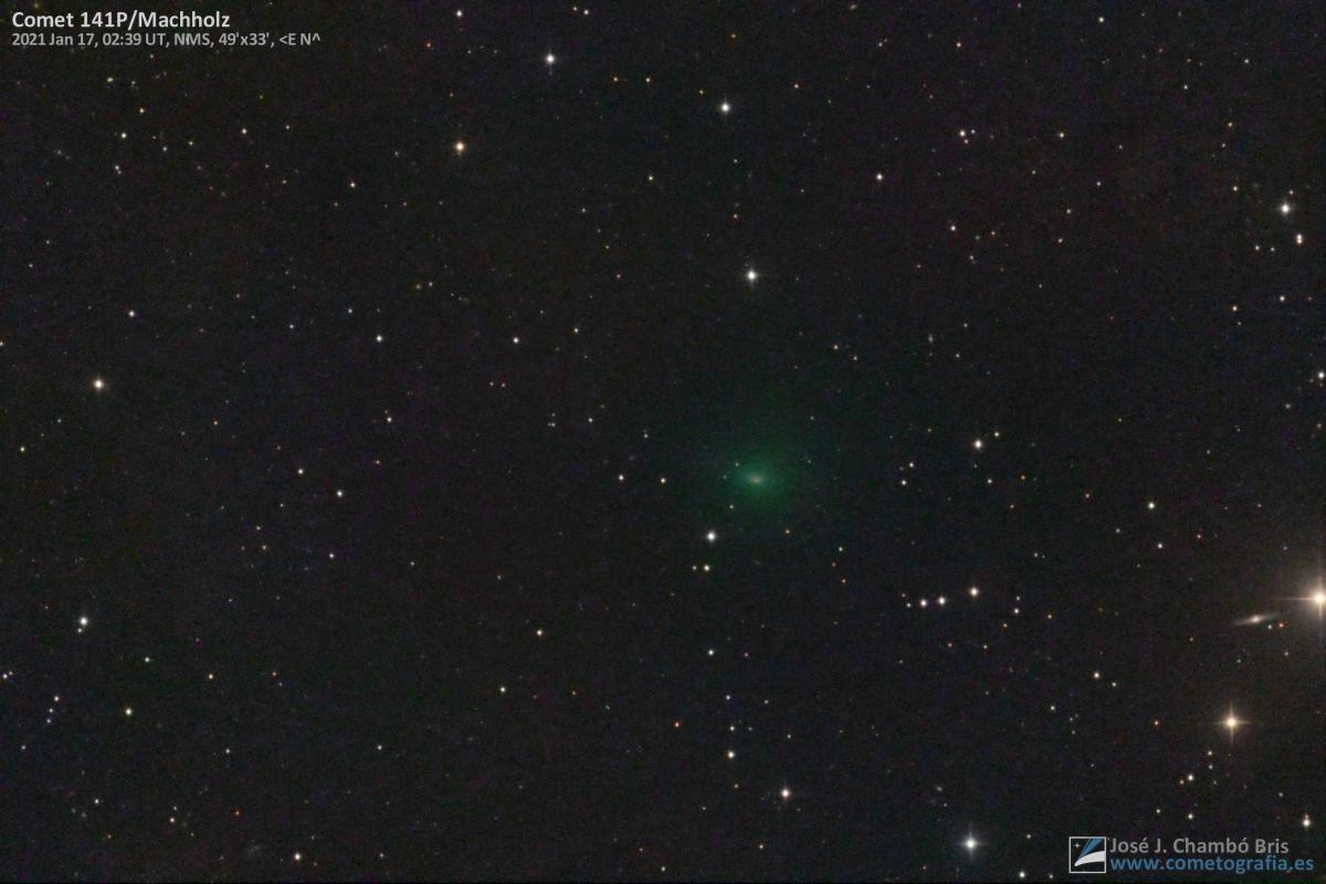 Cometa 141P/Machholz
