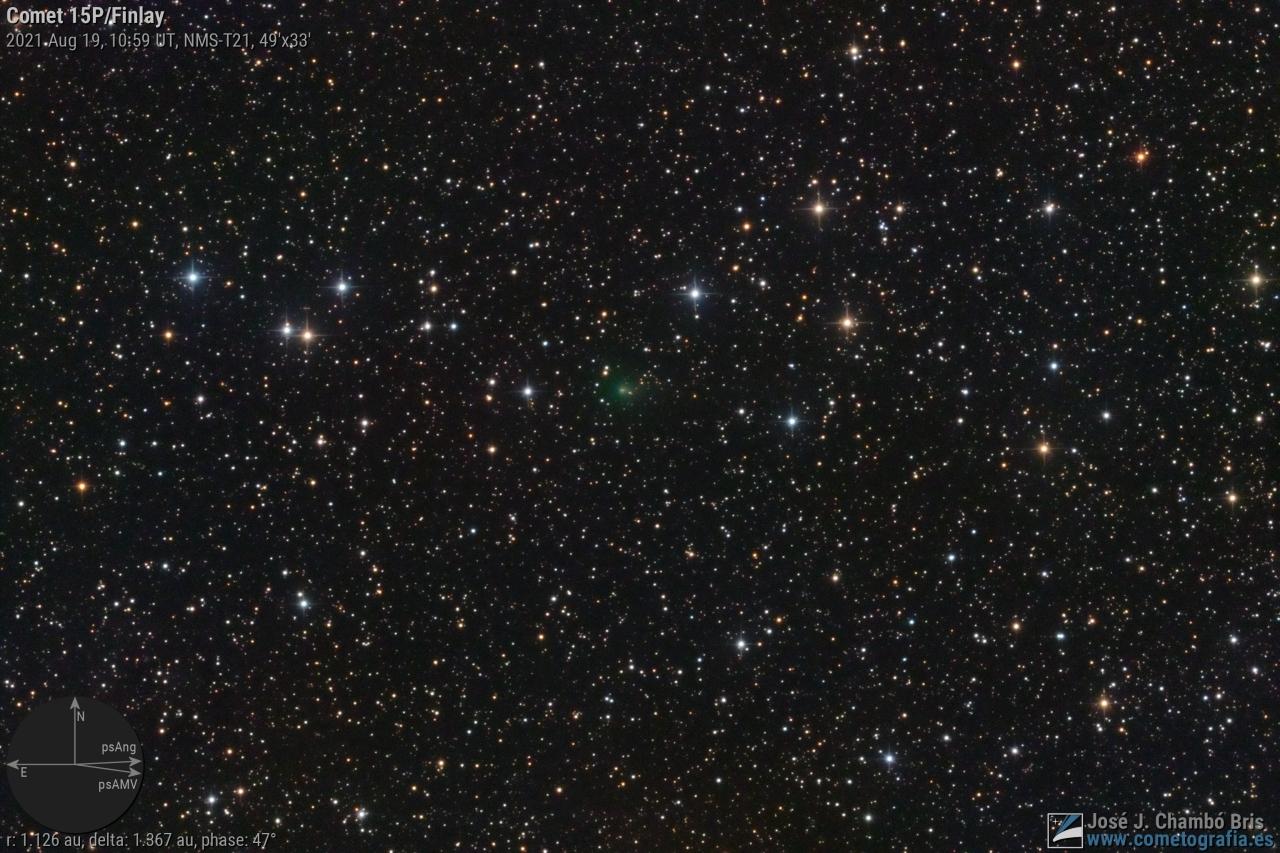 Cometa 15P/Finlay