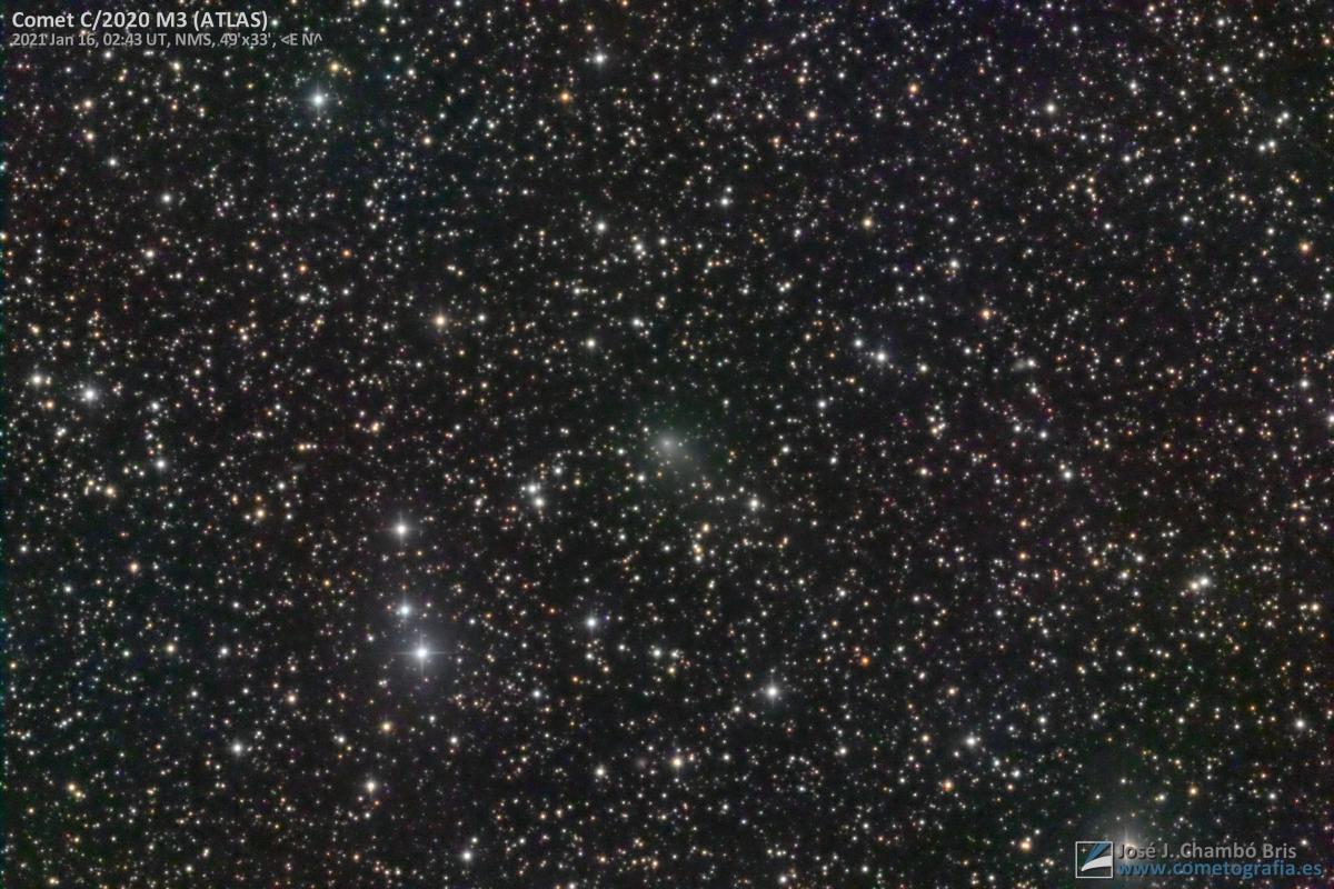 Cometa C/2020 M3 (ATLAS)