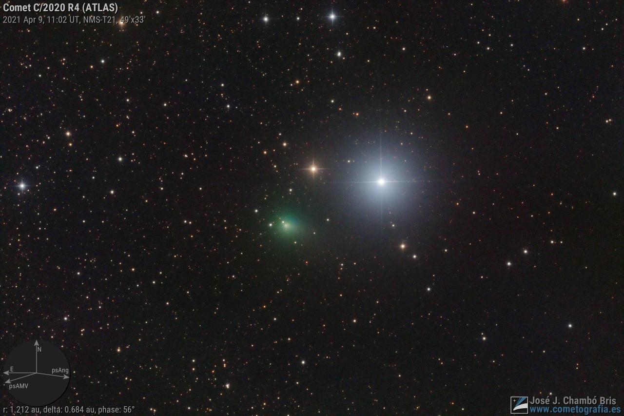 Cometa C/2020 R4 (ATLAS)