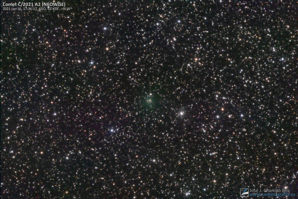 Cometa C/2021 A2 (NEOWISE)