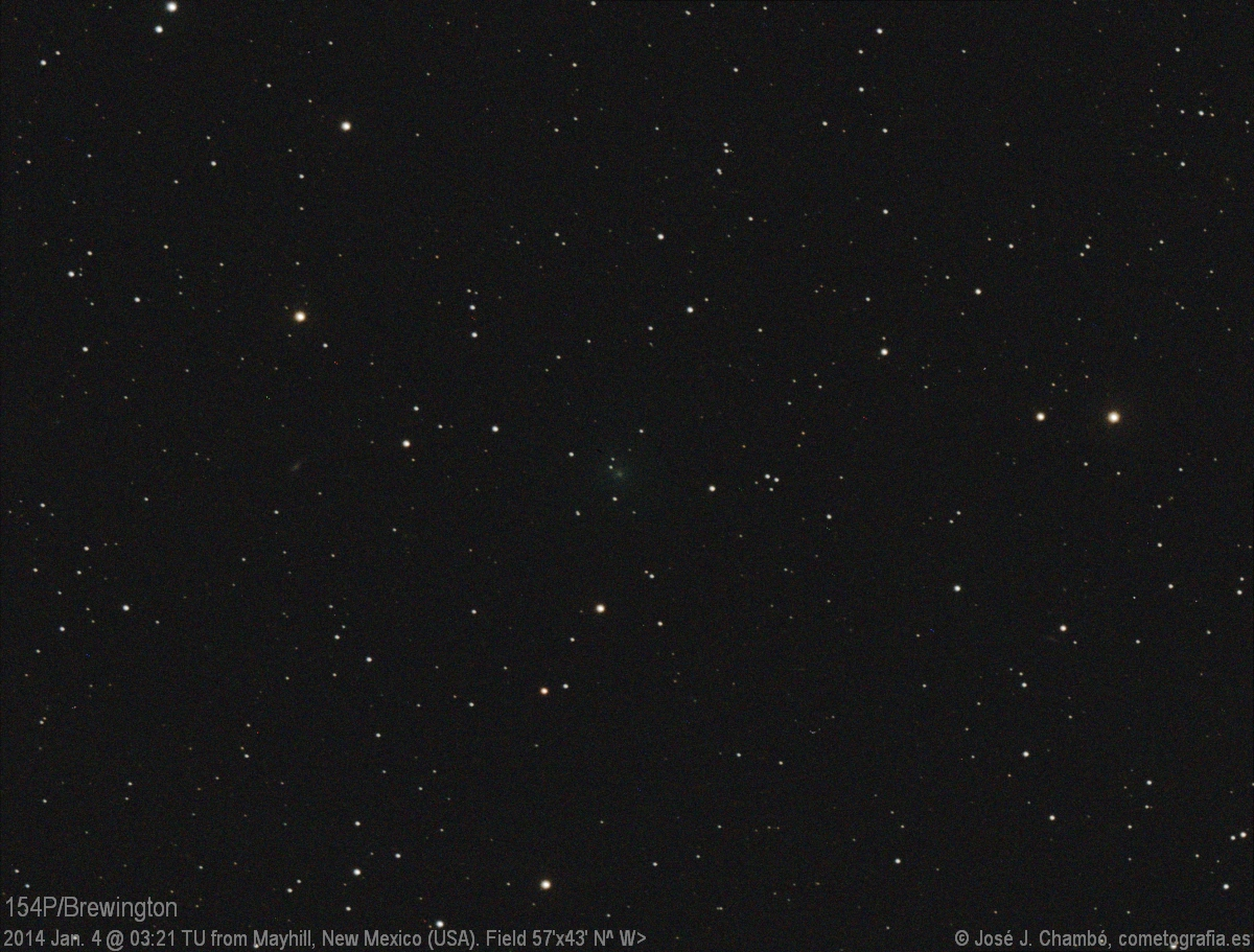 Cometa 154P/Brewington