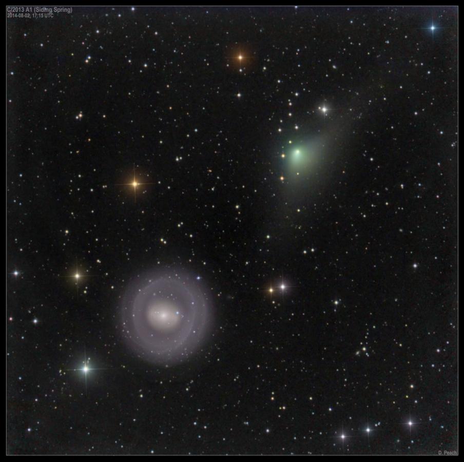 Cometa C/2013 A1 (Siding Spring)
