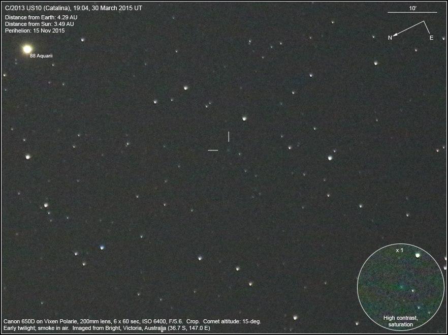 Cometa C/2013 US10 (Catalina)