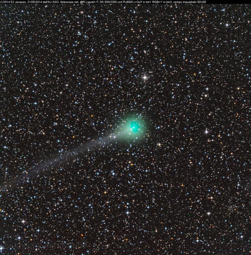 Cometa C/2014 E2 (Jacques)