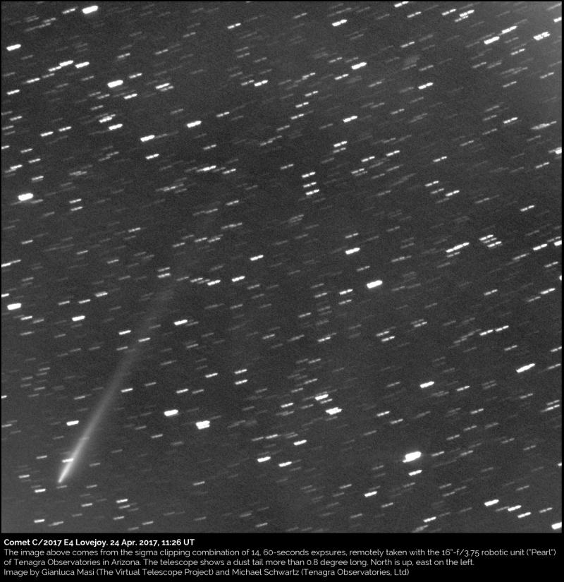 Cometa C/2017 E4 (Lovejoy)
