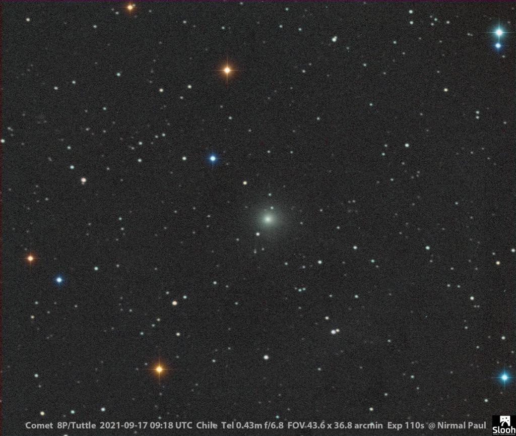 Cometa 8P/Tuttle