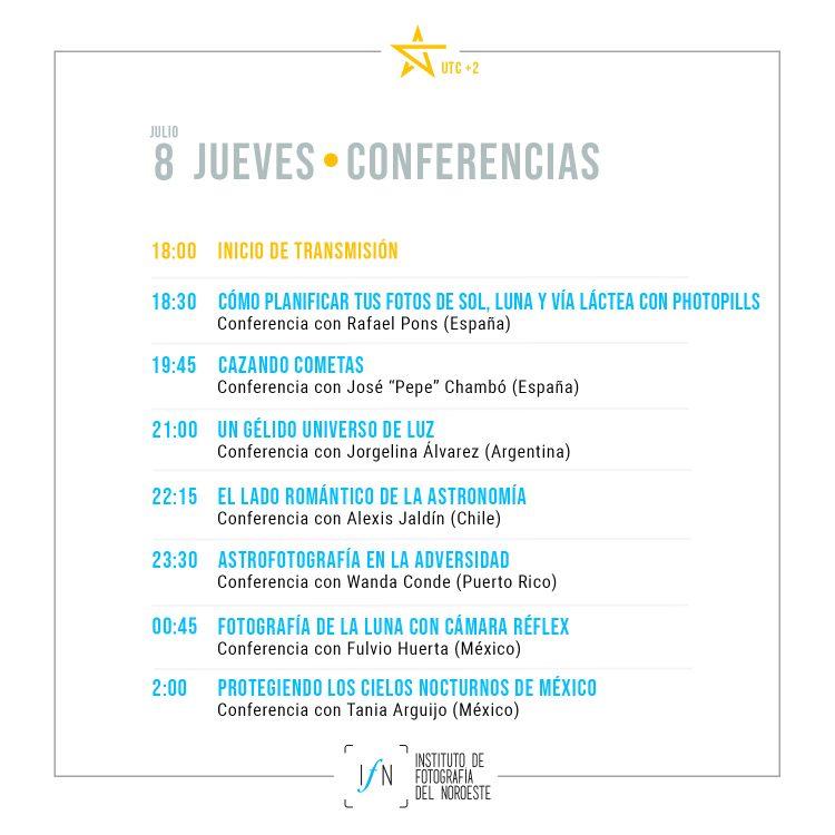 Congreso Astrofotografía Día 1