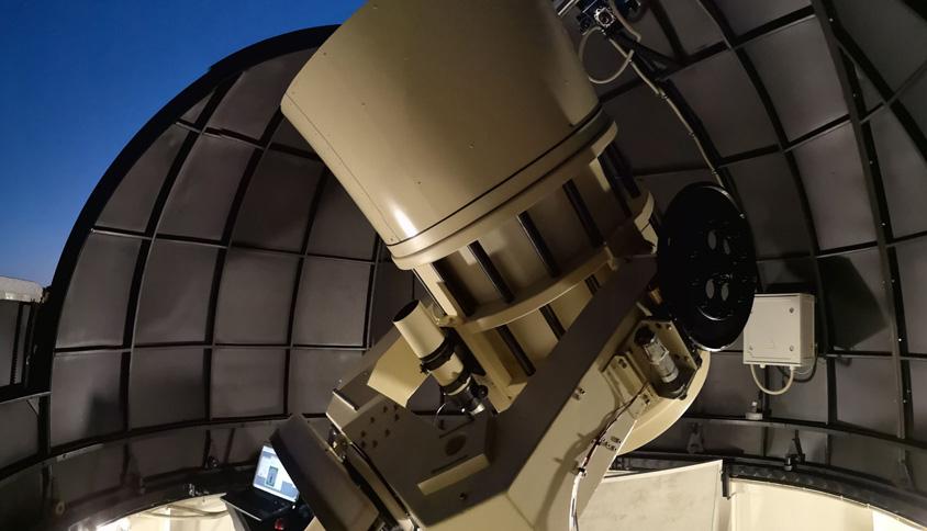 Telescopio con el que se descubrió el primer cometa interestelar 2I/Borisov