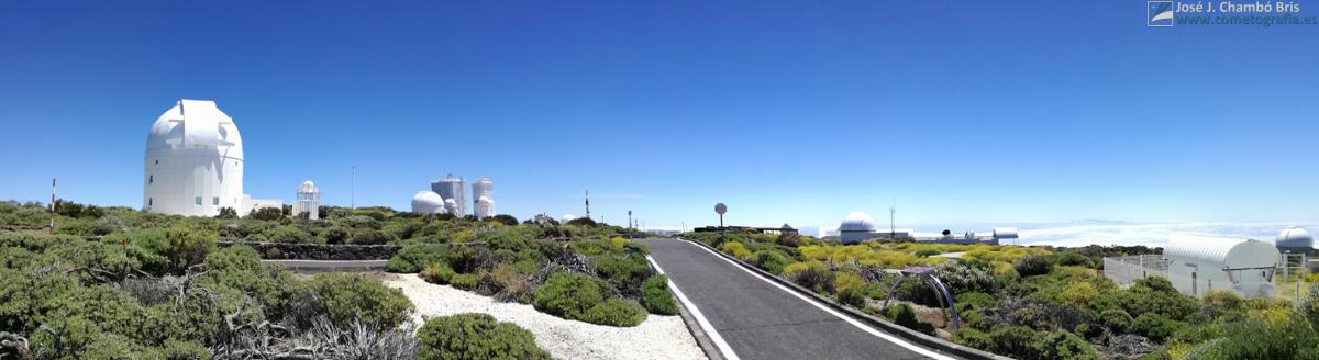 Panorámica del Observatorio del Teide